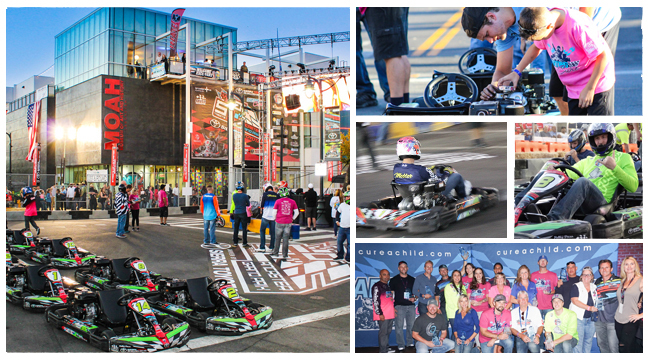 2016 Carting for a Cure Event